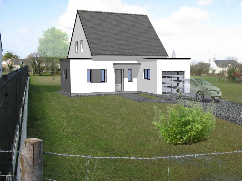 Construction d'une habitation principale sur la commune de Montoir de Bretagne