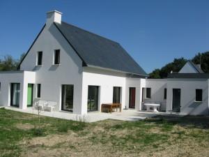 Construction d'une résidence secondaire à Mesquer en Loire Atlantique