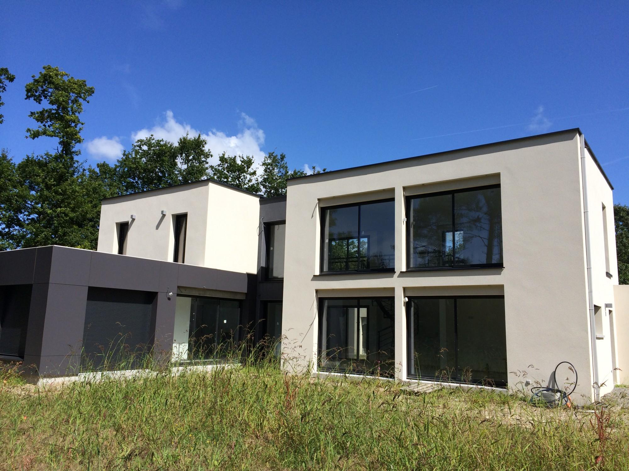 Construction d'une habitation contemporaine sur la commune de Missillac