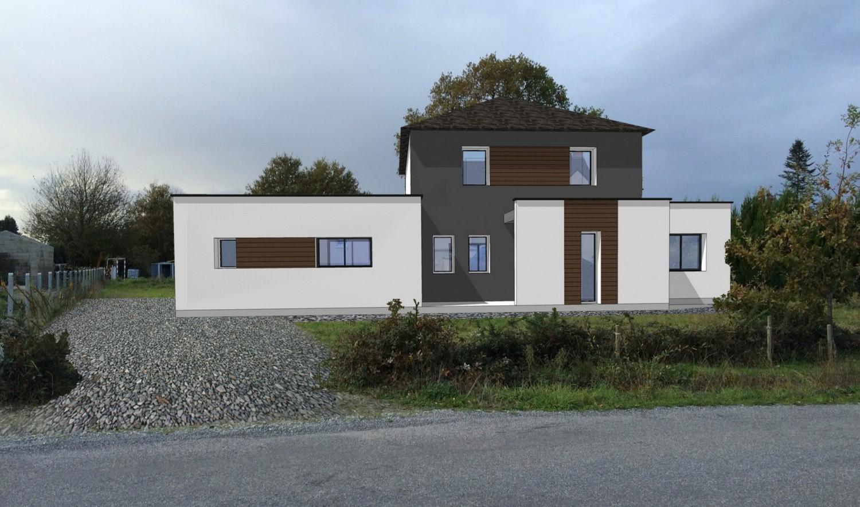 Maison construite à Saint-Dolay Morbihan à proximité de Missillac et Nivillac