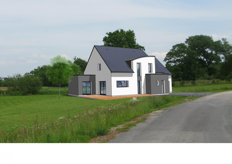 Maison individuelle construite à Crossac à proximité de Pontchâteau et de Donges