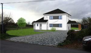 Maison individuelle située entre Missillac et la Chapelle des Marais